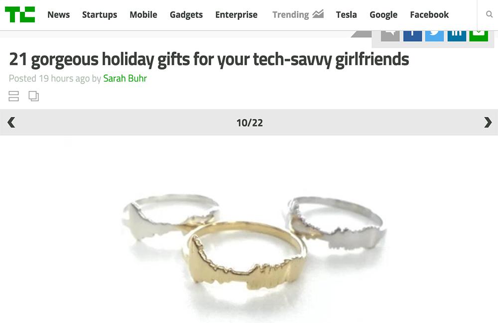 TechCrunchで紹介される
